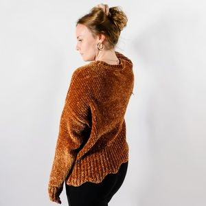 ⚠️ 70s Vibe Chenille Sweater to Die